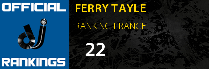 FERRY TAYLE RANKING FRANCE