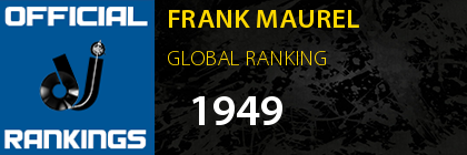FRANK MAUREL GLOBAL RANKING