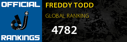 FREDDY TODD GLOBAL RANKING