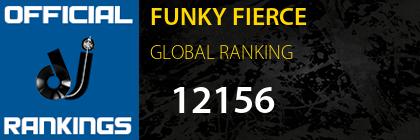 FUNKY FIERCE GLOBAL RANKING