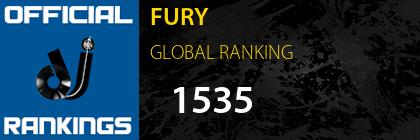 FURY GLOBAL RANKING