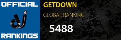 GETDOWN GLOBAL RANKING