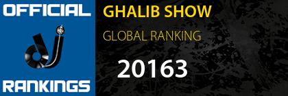 GHALIB SHOW GLOBAL RANKING
