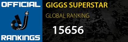 GIGGS SUPERSTAR GLOBAL RANKING