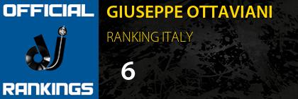 GIUSEPPE OTTAVIANI RANKING ITALY