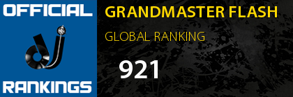 GRANDMASTER FLASH GLOBAL RANKING