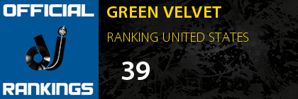 GREEN VELVET RANKING UNITED STATES