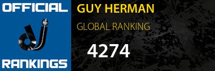 GUY HERMAN GLOBAL RANKING