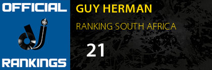 GUY HERMAN RANKING SOUTH AFRICA