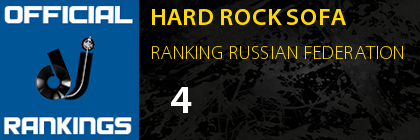 HARD ROCK SOFA RANKING RUSSIAN FEDERATION