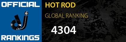 HOT ROD GLOBAL RANKING