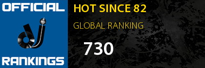 HOT SINCE 82 GLOBAL RANKING