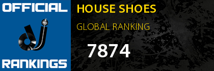 HOUSE SHOES GLOBAL RANKING