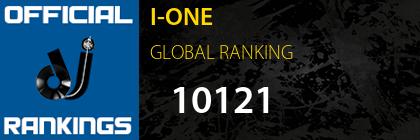 I-ONE GLOBAL RANKING