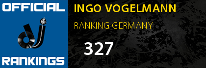 INGO VOGELMANN RANKING GERMANY