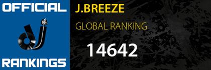 J.BREEZE GLOBAL RANKING