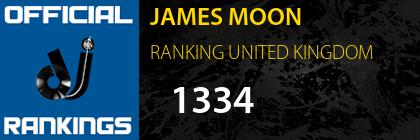 JAMES MOON RANKING UNITED KINGDOM