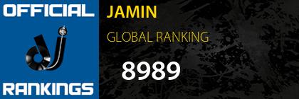 JAMIN GLOBAL RANKING