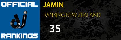 JAMIN RANKING NEW ZEALAND