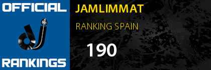 JAMLIMMAT RANKING SPAIN