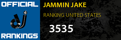 JAMMIN JAKE RANKING UNITED STATES