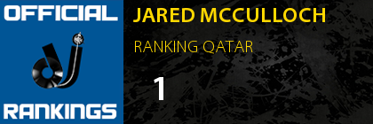 JARED MCCULLOCH RANKING QATAR