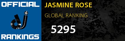 JASMINE ROSE GLOBAL RANKING