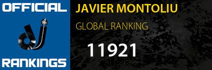 JAVIER MONTOLIU GLOBAL RANKING