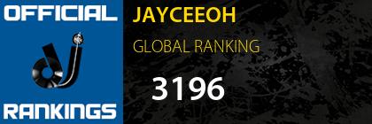 JAYCEEOH GLOBAL RANKING