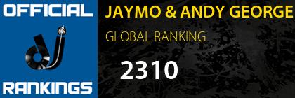 JAYMO & ANDY GEORGE GLOBAL RANKING
