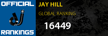 JAY HILL GLOBAL RANKING