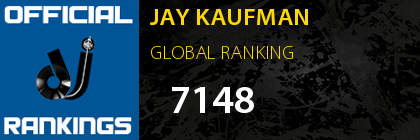 JAY KAUFMAN GLOBAL RANKING