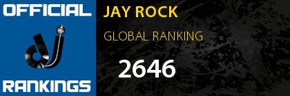 JAY ROCK GLOBAL RANKING