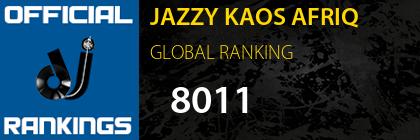 JAZZY KAOS AFRIQ GLOBAL RANKING