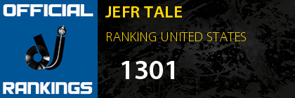JEFR TALE RANKING UNITED STATES