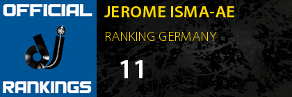 JEROME ISMA-AE RANKING GERMANY