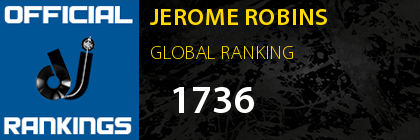 JEROME ROBINS GLOBAL RANKING
