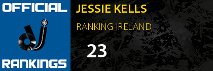 JESSIE KELLS RANKING IRELAND