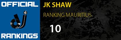JK SHAW RANKING MAURITIUS