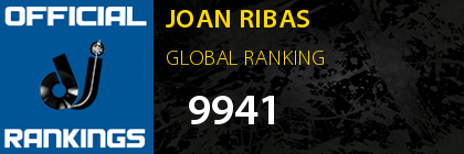 JOAN RIBAS GLOBAL RANKING