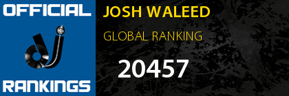 JOSH WALEED GLOBAL RANKING