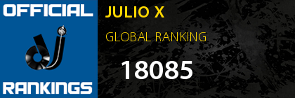 JULIO X GLOBAL RANKING