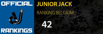 JUNIOR JACK RANKING BELGIUM