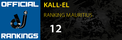 KALL-EL RANKING MAURITIUS