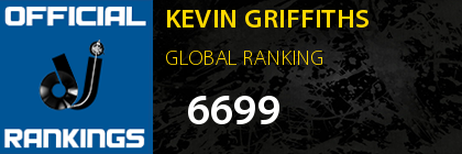 KEVIN GRIFFITHS GLOBAL RANKING