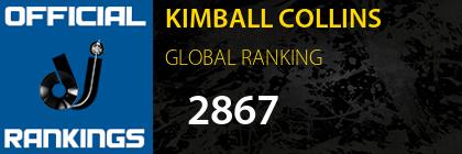 KIMBALL COLLINS GLOBAL RANKING