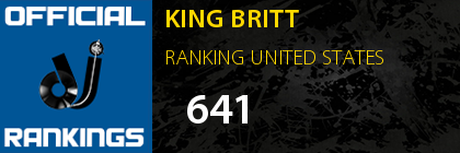 KING BRITT RANKING UNITED STATES