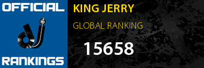 KING JERRY GLOBAL RANKING