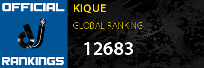 KIQUE GLOBAL RANKING