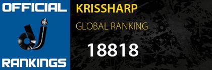 KRISSHARP GLOBAL RANKING